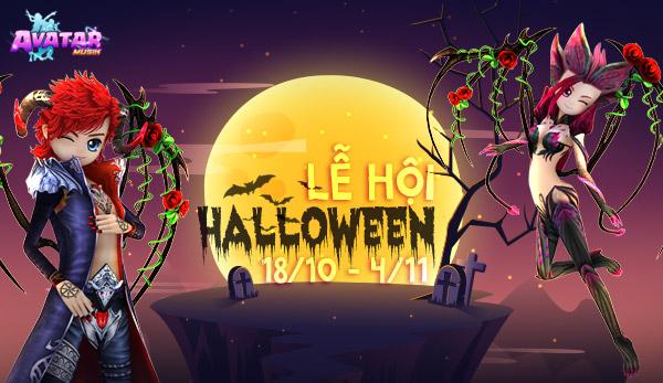 Sự kiện Lễ Hội Halloween 2018 (18/10)