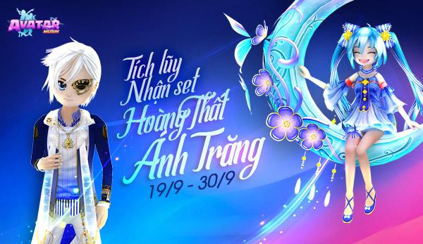 Tích lũy nhận set Hoàng Thất Ánh Trăng (19/09)